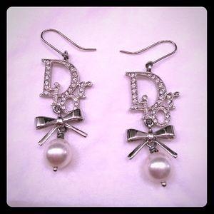 Dior Bow Earrings